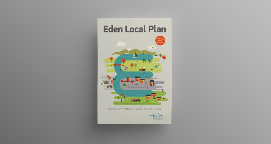 Eden District Council identity