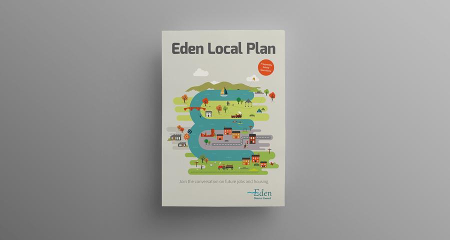 Eden District Council identity