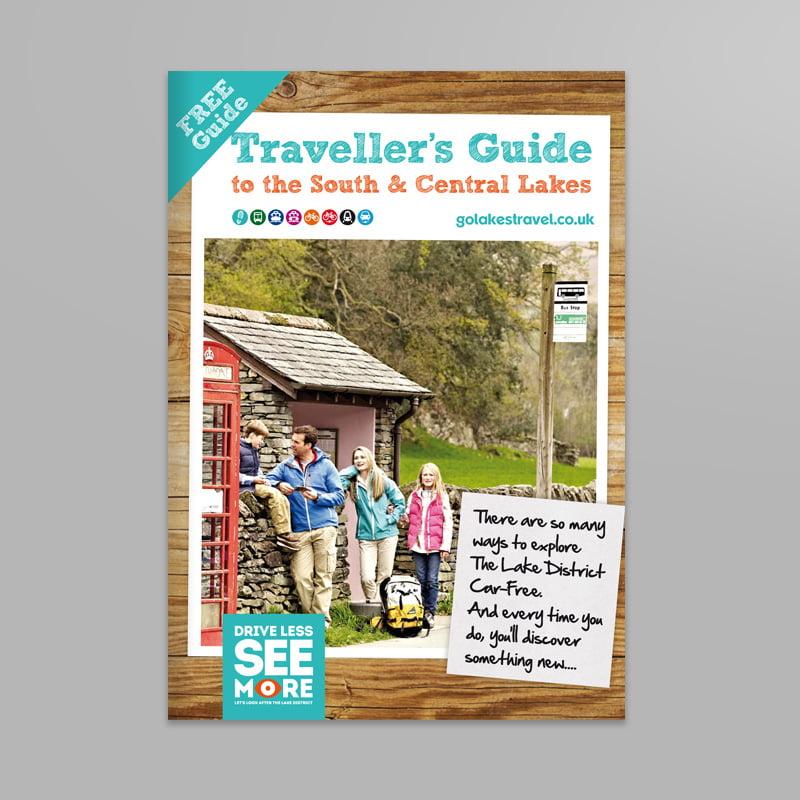 Cumbria Tourism print design