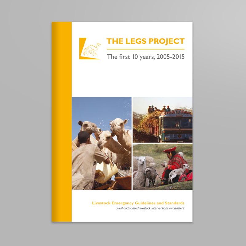 Livestock Emergency Guidelines and Standards print design