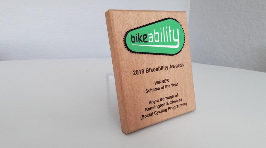 Bikeability Award