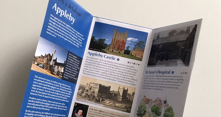 Historic England - heritage trail leaflet
