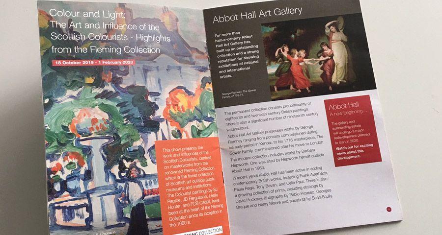Lakeland Arts Abbott Hall Guide