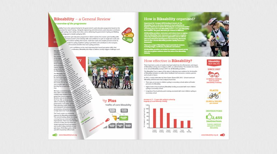 The Bikeability Trust Annual Report