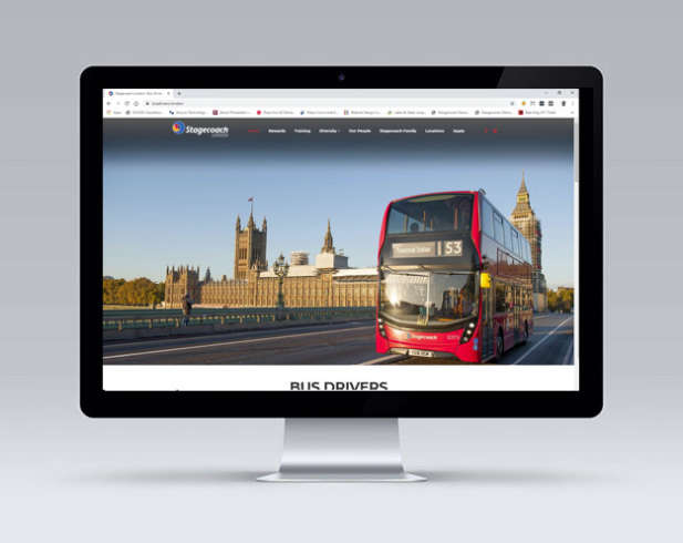 Stagecoach London Website