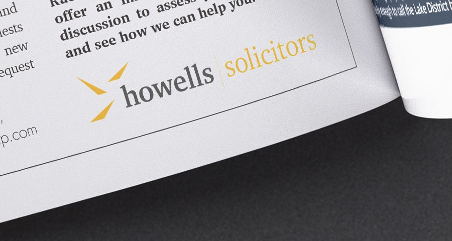 Howells Solicitors Advertising