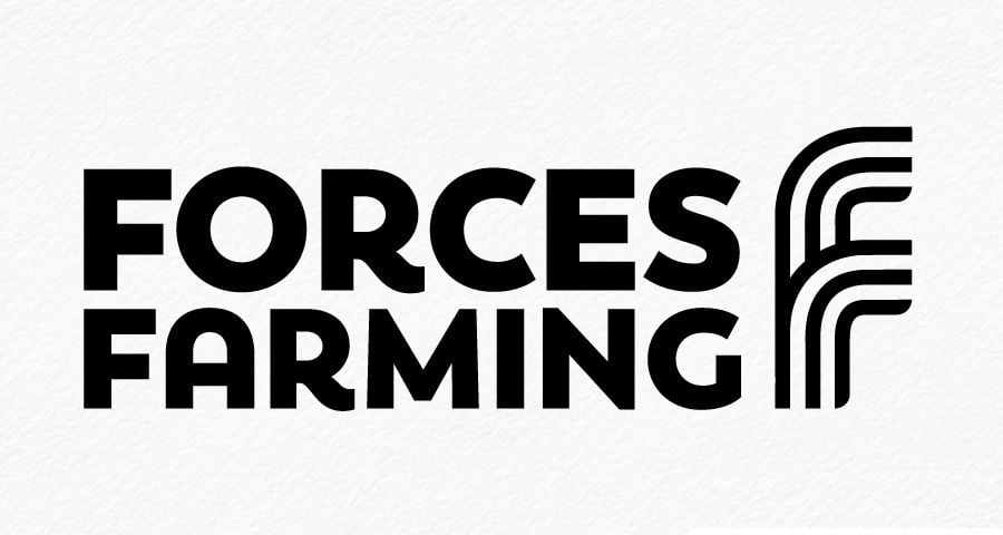 Forces Farming identity design