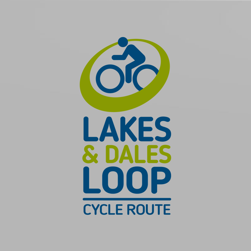 Lakes & Dales Loop identity design