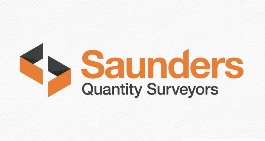 Saunders Quantity Surveyor identity design
