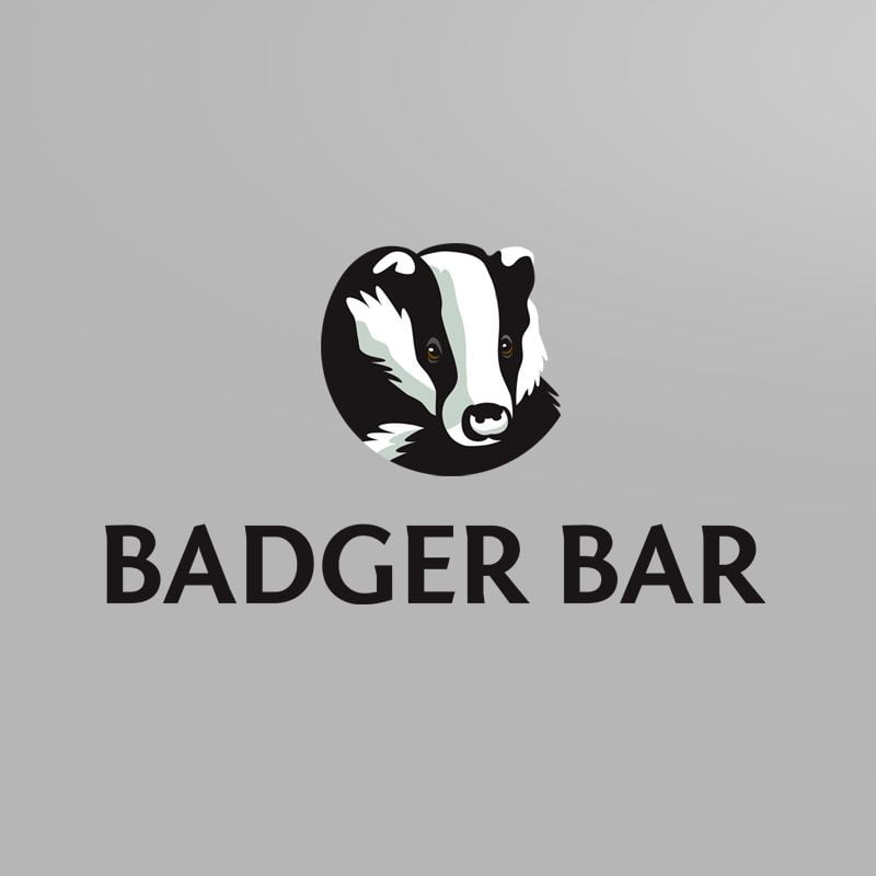 Badger Bar identity design
