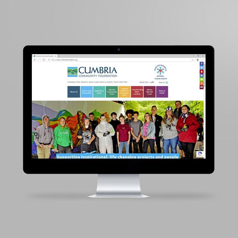 Cumbria Community Foundation website