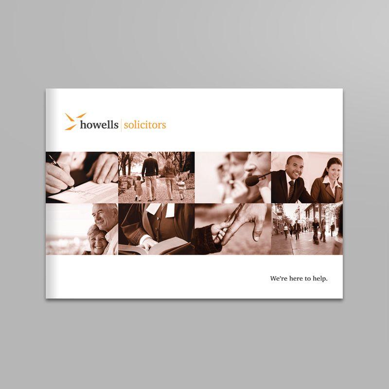 Howells Solicitors print design