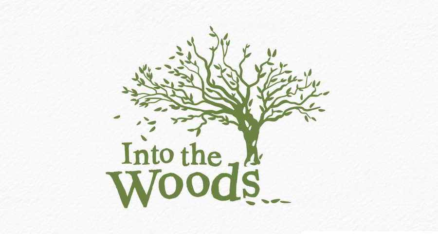 Into The Woods identity design