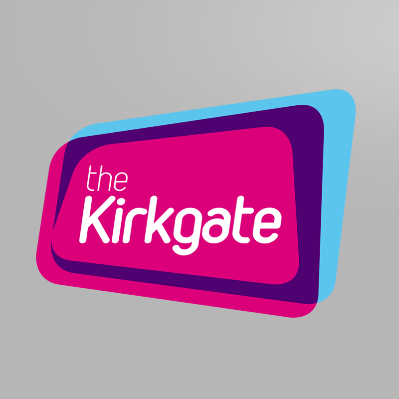 The Kirkgate identity design