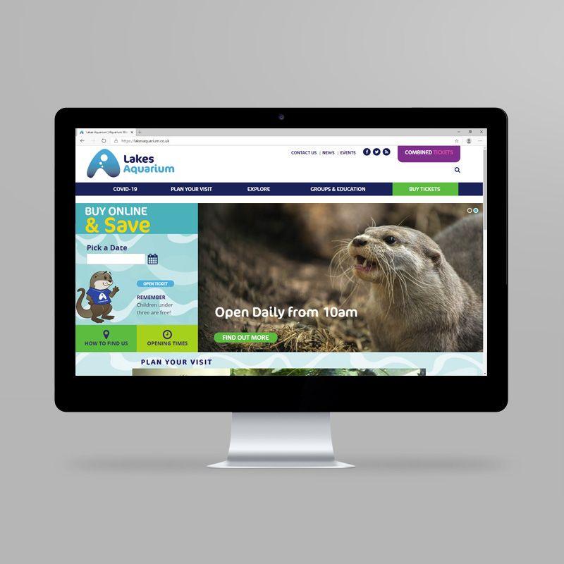 Lakes Aquarium website