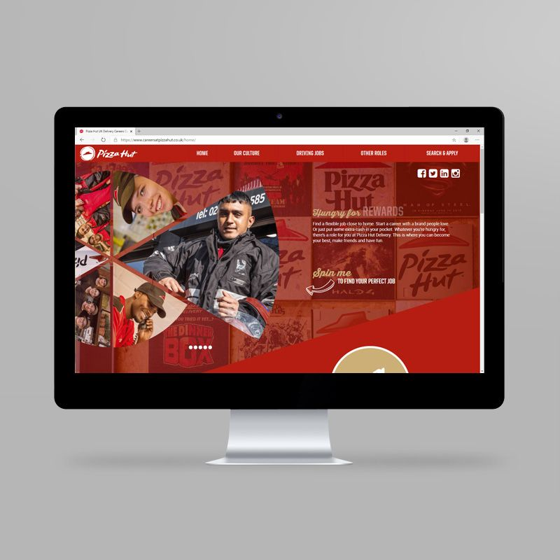 Pizza Hut website