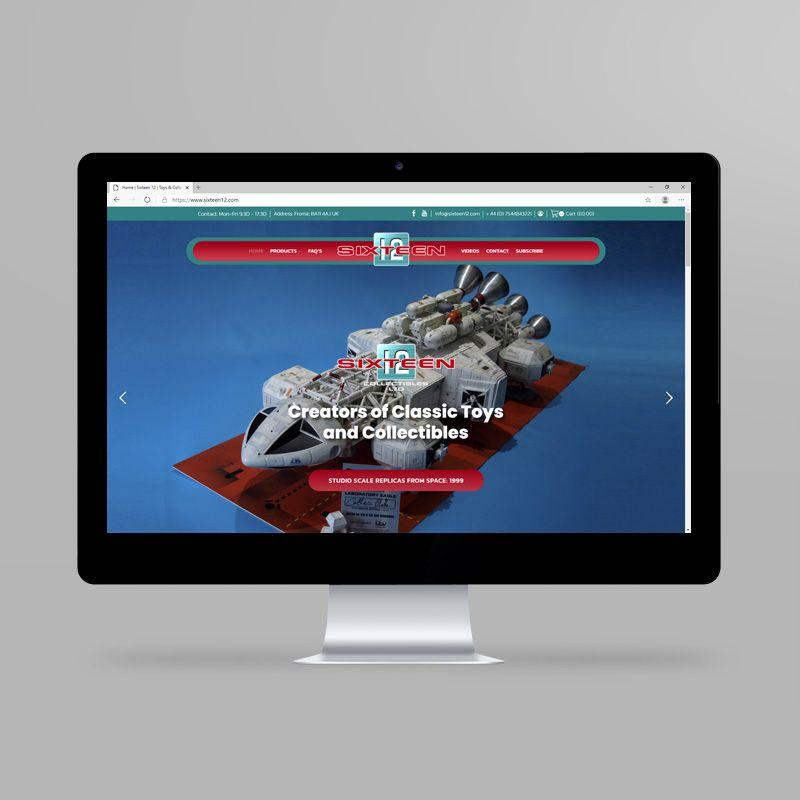 Sixteen12 website
