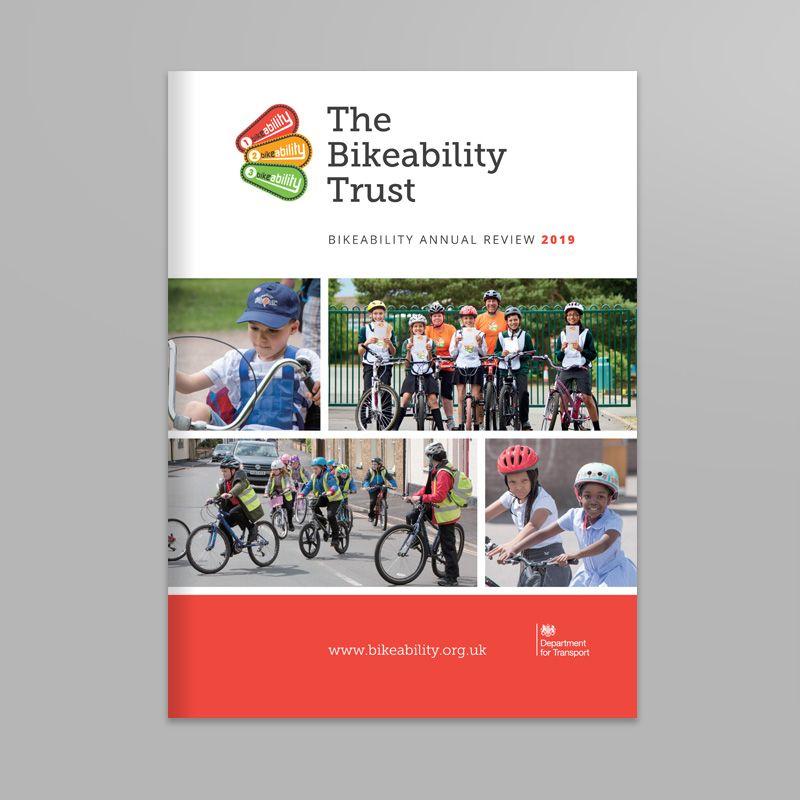 Bike Ability Trust print design