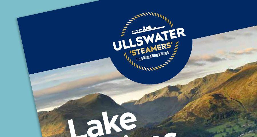 Ullswater Steamers identity design