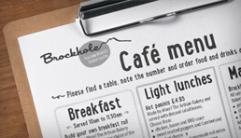 Brockhole menu