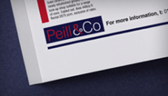 Peill & Co Advertising