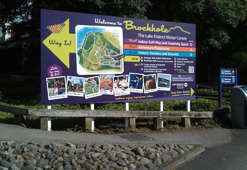 Brockhole Signage