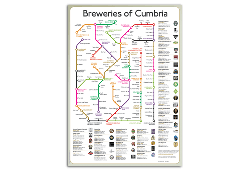 CAMRA Brewery Map
