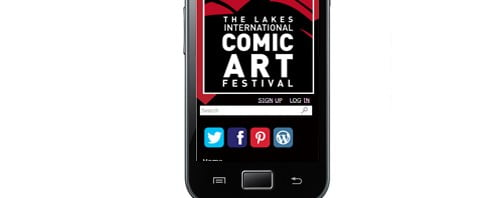 Comic Art Festival - WordPress Website