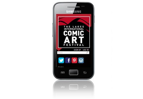 Comic Art Festival - WordPress Website