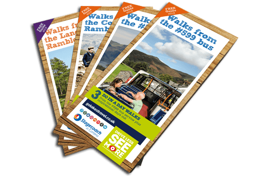 Cumbria Tourism - Walk from Bus leaflet