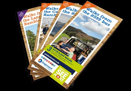 Cumbria Tourism - Walk from Bus leaflet