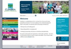 Cumbria Community Foundation website
