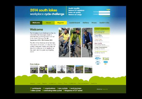 Cycle Challenge Website