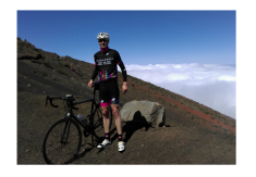 Cycling kit Mount Teide