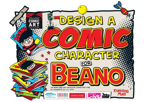 Design a comic character for The Beano