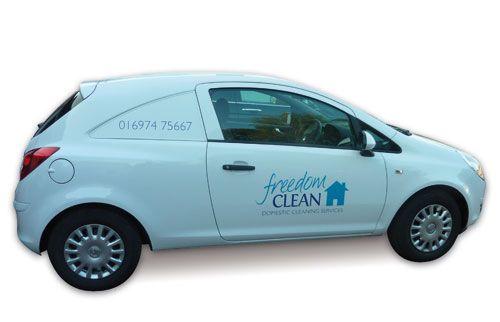 Freedom Clean van