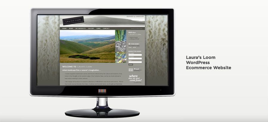 Laura's Loom - WordPress Ecommerce Website