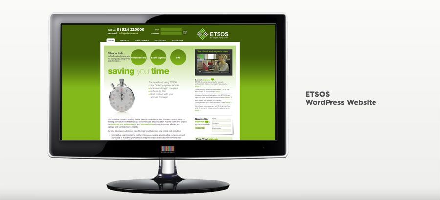 ETSOS - WordPress Ecommerce Website