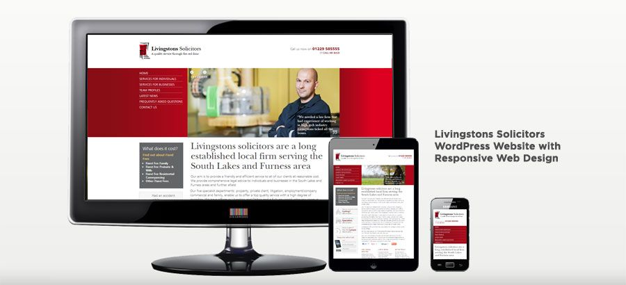 Livingstons Solicitors - WordPress Website