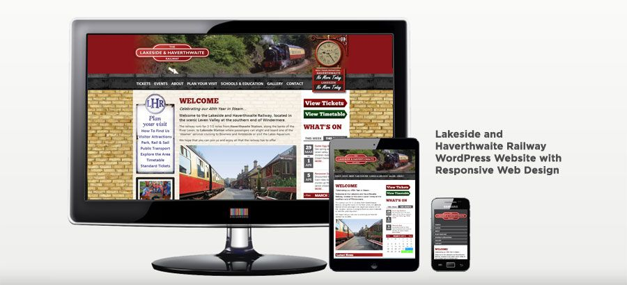 Lakeside and Haverthwaite Railway WordPress Website