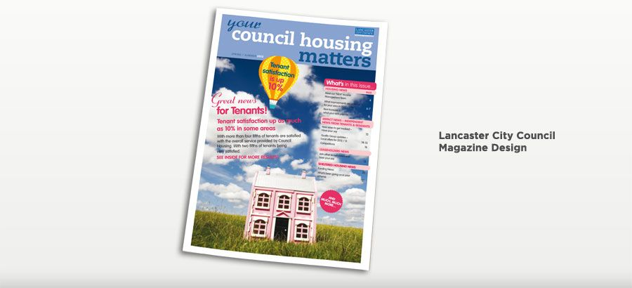 Lancaster City Council - Magazine