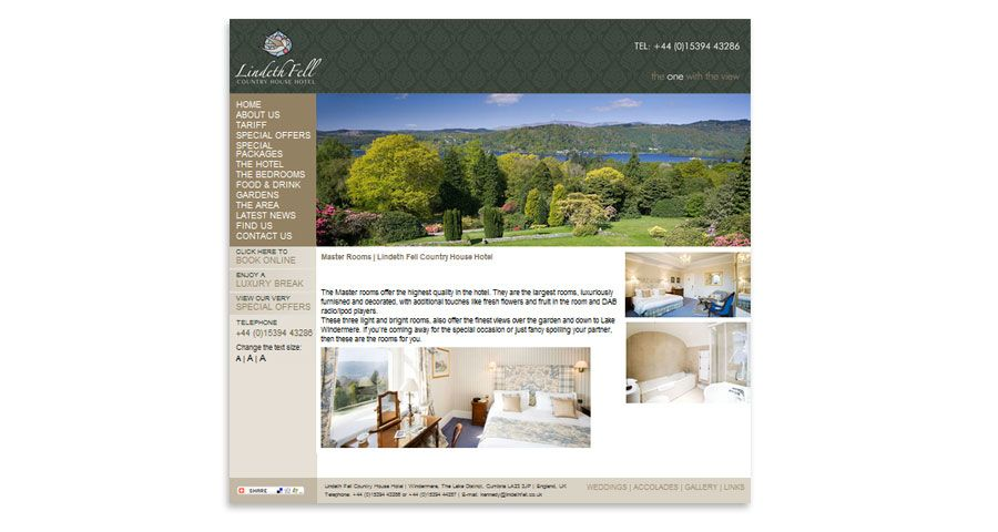 Lindeth Fell Hotel - Identity