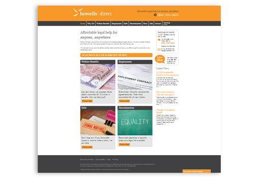 Howells Direct - WordPress Website